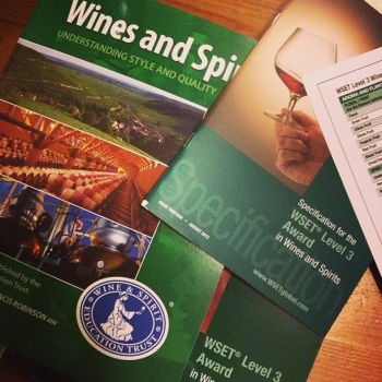 WSET Level 3 books
