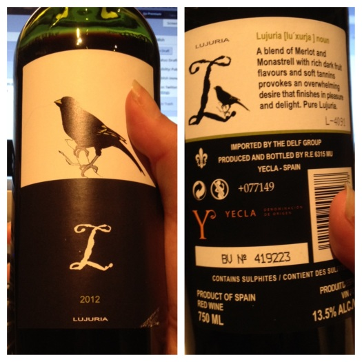 wine from Yecla DO in Spain