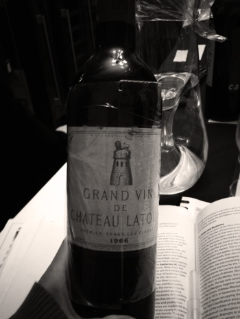 Bordeaux wine Grand Vin de Chateau Lato