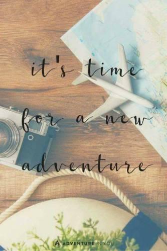 new adventure starts